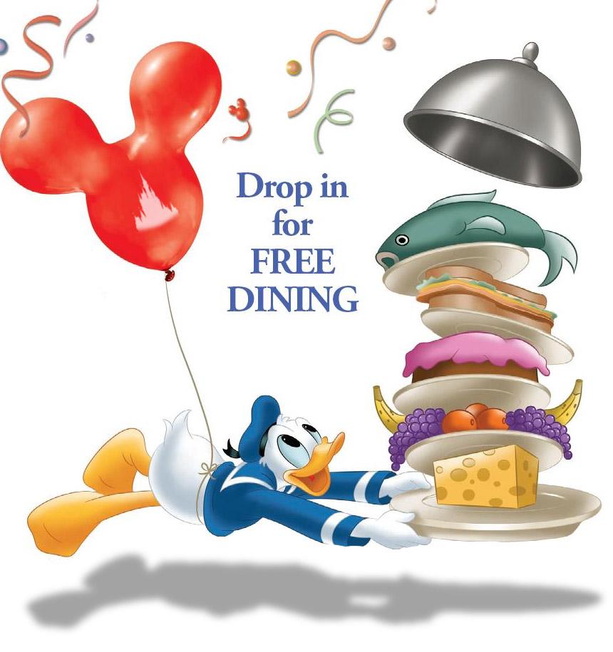 More Details For Disney World Free Dining Rumor Eat